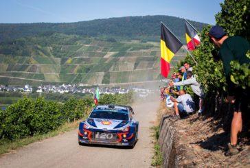 WRC – Thierry Neuville erringt Platz zwei bei der Rallye Deutschland