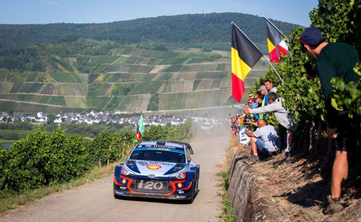 WRC – Hyundai Motorsport scores ninth podium of 2018 with second place for Thierry Neuville