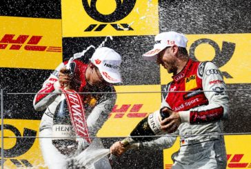 Serial winner René Rast keeps title race open with fourth consecutive DTM victory