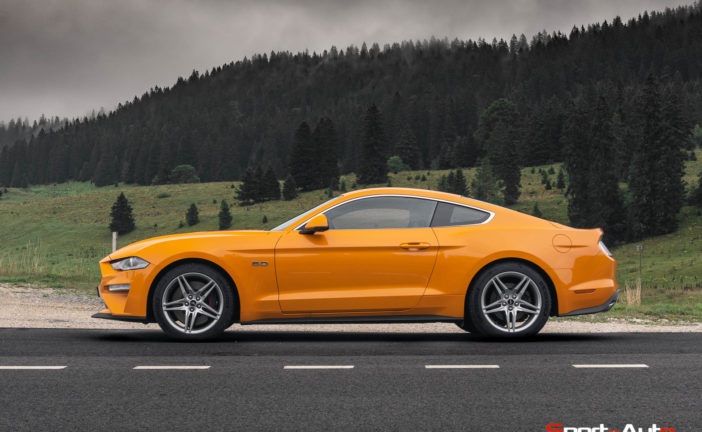 Essai – Ford Mustang GT V8 MY2018