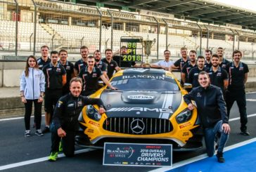 """Blancpain GT Series – Raffaele Marciello et Michael Meadows champions """"Sprint Cup"""""""