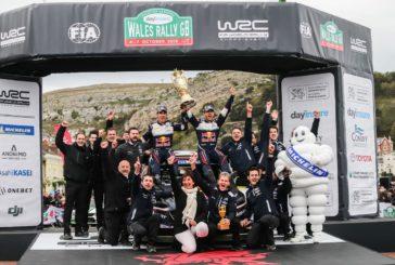 WRC – Sébastien Ogier s'impose au Pays de Galles et se replace au championnat