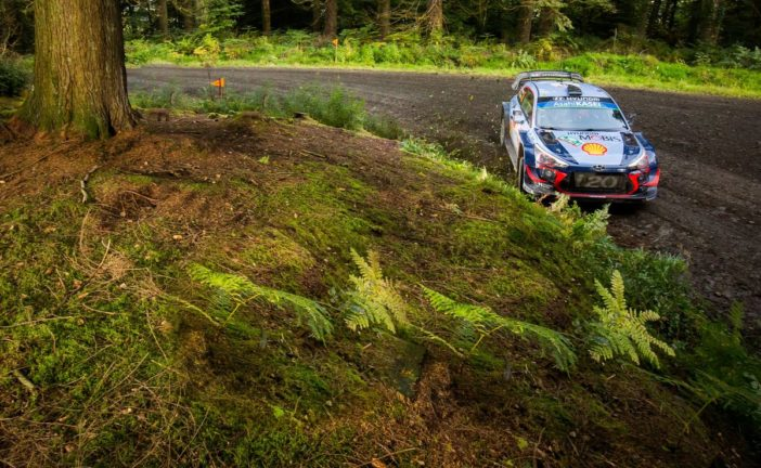 WRC – Hyundai Motorsport concluded a challenging Wales Rally GB