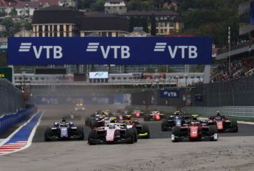 FIA Formula 2 –  Russell captures win in wet/dry Sochi sprint