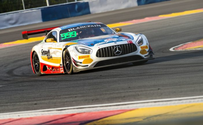Double dose of bad luck for Patric Niederhauser in grand finale to 2018 Blancpain GT Series Asia