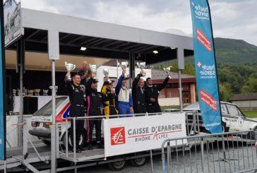 Victoire d'Eddy Bérard – Michael Volluz au Rallye du Pays de Seyssel VHC