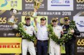Edoardo Mortara troisième de la FIA GT World Cup dans les rues de Macau