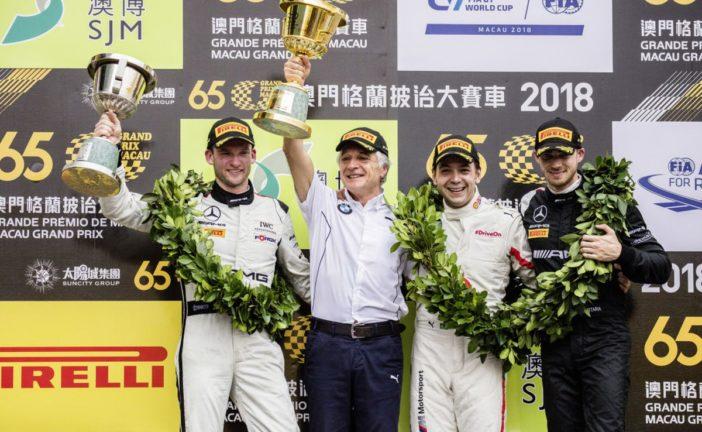 Edoardo Mortara dritte beim FIA GT World Cup 2018 in Macau