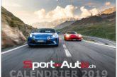 Soutenez Sport-Auto.ch en achetant notre calendrier 2019 !