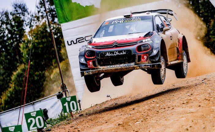 WRC – Mads Ostberg bags final podium spot in Australia !