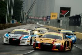 Audi Sport customer racing in Macau with 14 race cars