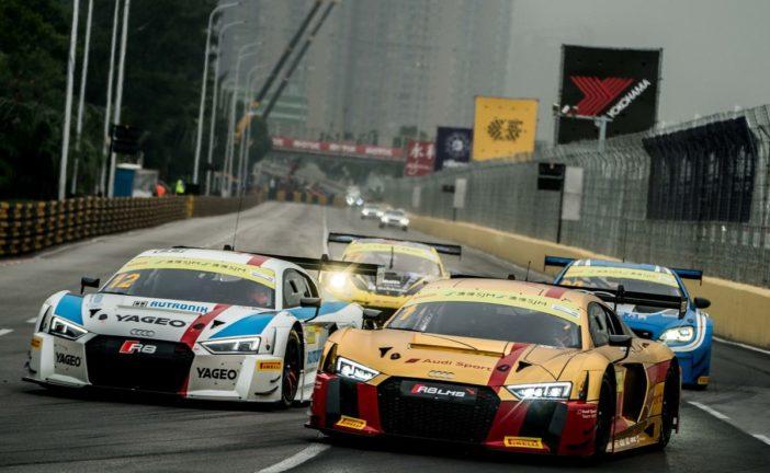 Audi Sport customer racing in Macau with 14 race cars