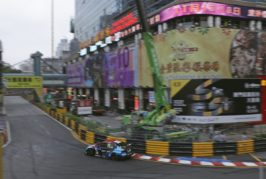 Zwei Siege für Audi Sport customer racing in Macau