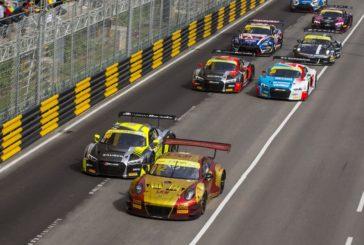 Porsche fährt in Macau auf Platz vier
