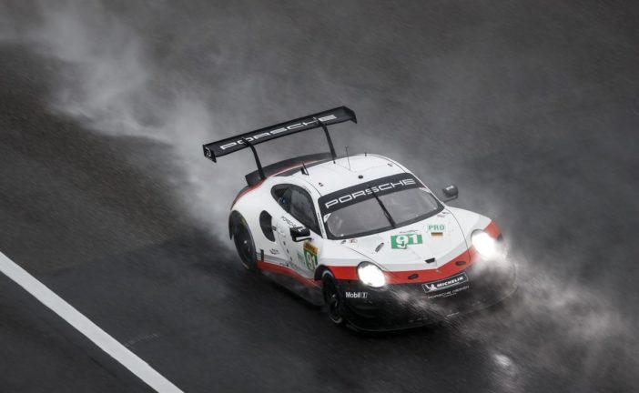 Nach starker Leistung Platz zwei und drei für das Porsche GT Team in Shanghai