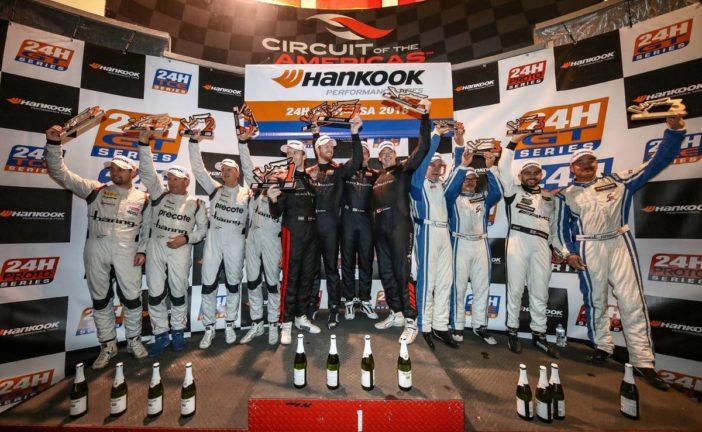 24h Series – Daniel Allemann sur le podium des 24h COTA
