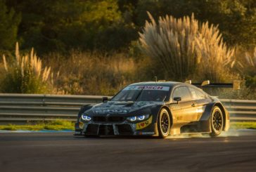 BMW M Motorsport completes first test with the new 2019 season BMW M4 DTM