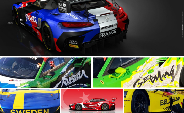 18-strong entry list for inaugural FIA GT Nations Cup