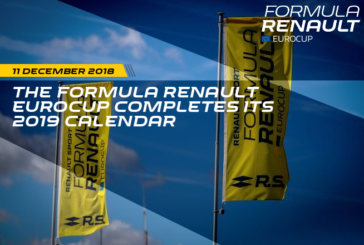 The Formula Renault Eurocup completes its 2019 calendar