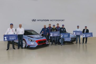 Successful Hyundai Motorsport customers attend trophy prize-giving