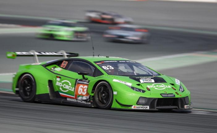 Pole-Position bei den 24H Dubai zum Geburtstag für Mirko Bortolotti im GRT Grasser Racing Team-Lamborghini