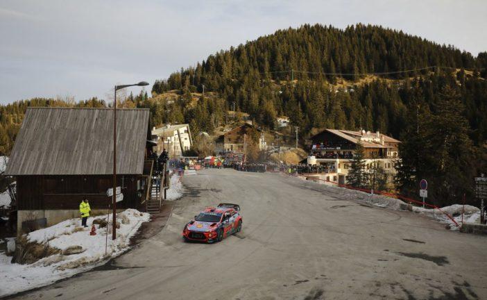 WRC Rallye Monte Carlo: Hyundai Motorsport mit spektakulärem Saisonauftakt