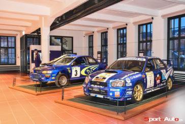 Une exposition pour les 40 ans de Subaru en Suisse
