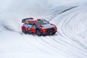 WRC Rallye Schweden: Hyundai jubelt erneut auf dem Podium