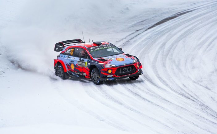WRC – Hyundai Motorsport has taken its second podium of the 2019 FIA World Rally Championship