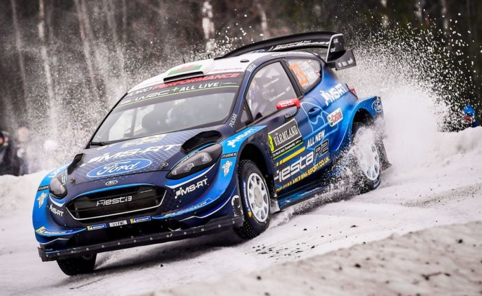 WRC – M-Sport Ford show speed in Sweden