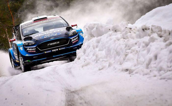 WRC – Suninen leads in Sweden