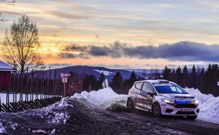 FIA Junior WRC – Tom Kristensson leading Rally Sweden