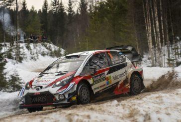 WRC –  Tänak takes control for Toyota Gazoo Racing