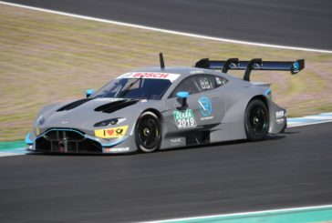 Aston Martin Vantage DTM von R-Motorsport feiert Rennstrecken-Debüt in Jerez