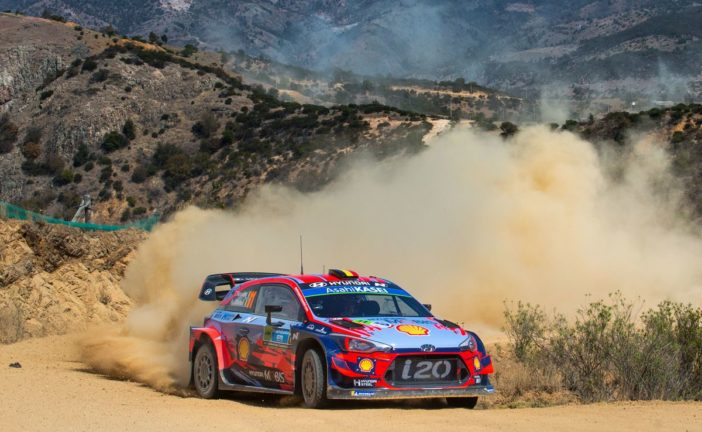 WRC – Hyundai erkämpft weitere wichtige WM-Punkte