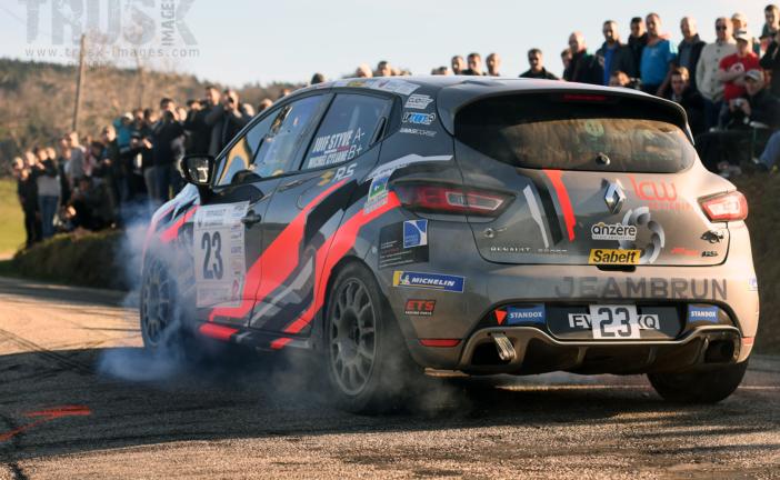 Rallye Pays du Gier – Clio R3T Alps Trophy : Styve Juif s'imposent au bout du suspense !