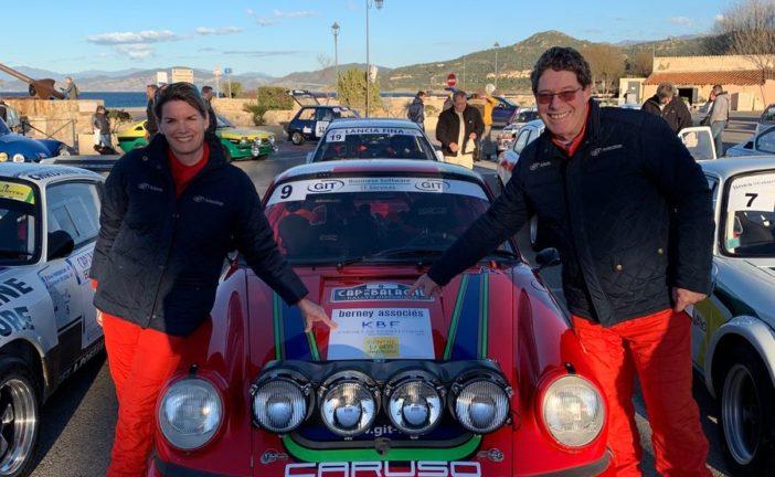 Podium VHC pour Frank Servais et Konstantine Buxtorf-Friedli en Corse