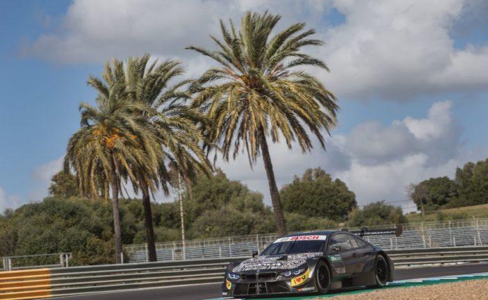 BMW M Motorsport setzt in Spanien Saisonvorbereitung mit dem neuen BMW M4 DTM mit Turboantrieb fort